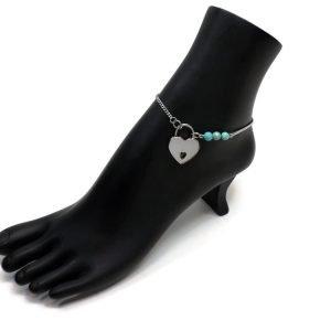 Gem Covenant Anklet – Discreet Slave Anklet