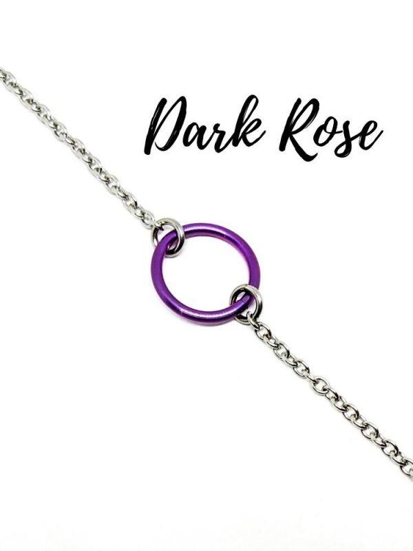rose titanium day collar