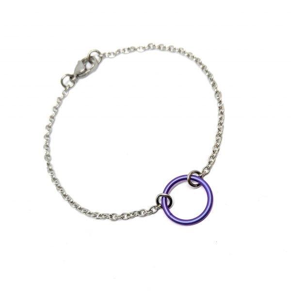 violet slave bracelet