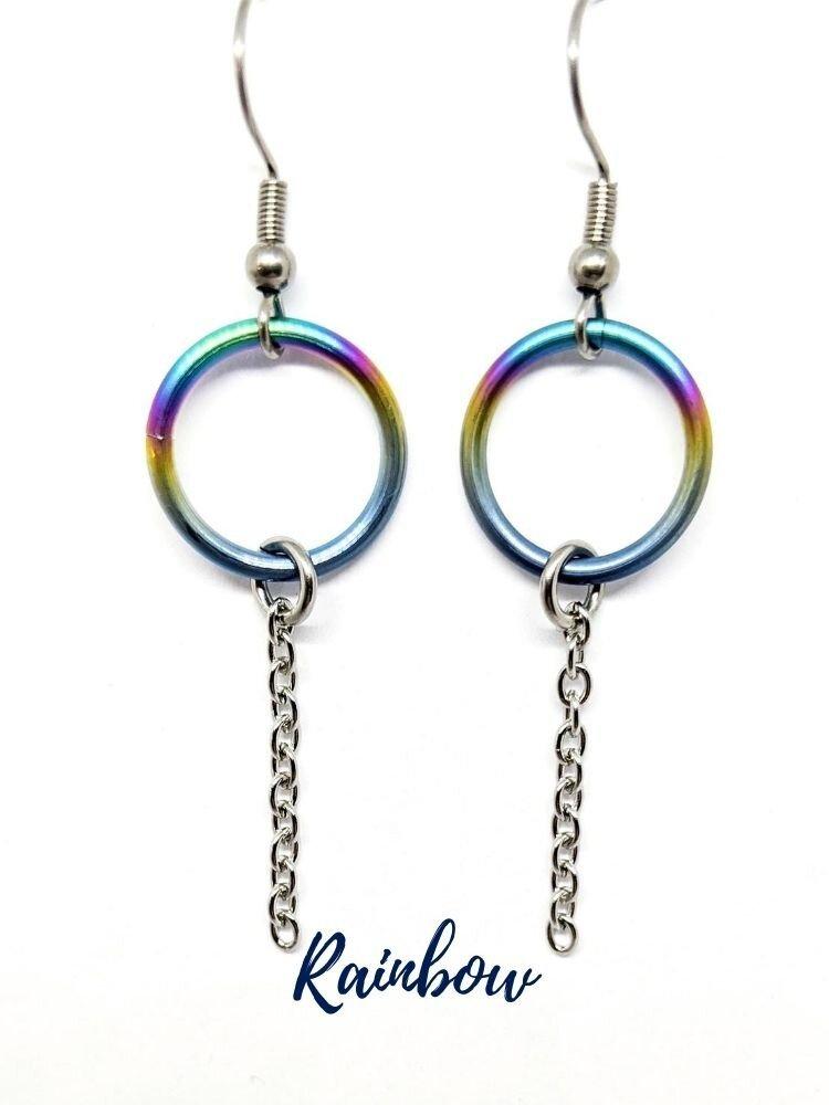 Rainbow-eternity-ring-earrings