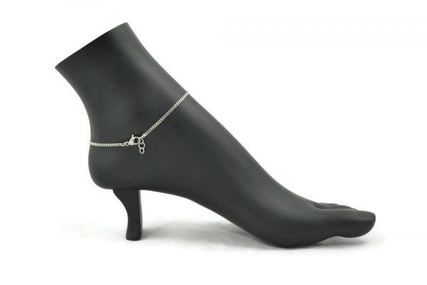 celtic clover anklet in stainless steel by serenity in chains