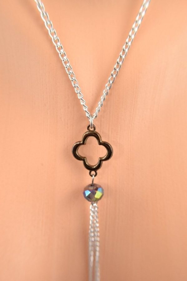lucky clover non piercing nipple chain by serenity in chains